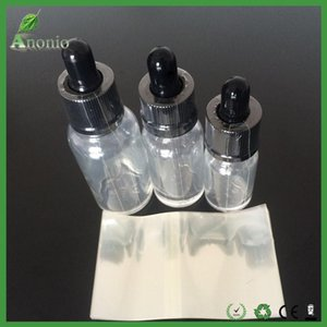 5ml 10ml 15ml 20ml 30ml 50ml e sıvı cam damlalık şişeler için kol etiket shrink wrap Shrink film için 2000pcs Temizle PVC sarma mühürler Küçült