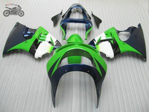 carenados motocycle personalizada para Kawasaki Ninja ZX6R ZX6R 98 99 ZX 6R 98 99 1998 1999 carreras de carretera del ABS carenado plástico