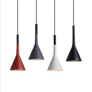 Retro de cemento imitación industrial creativa Resina barra del droplight Luz pendiente colgante industrial de la luz de techo lámpara de luz # 32