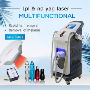 شهادة ISO الجمالية الليزر الليزر ipl opt shr إزالة الشعر و pico nd yag الليزر الوشم إزالة