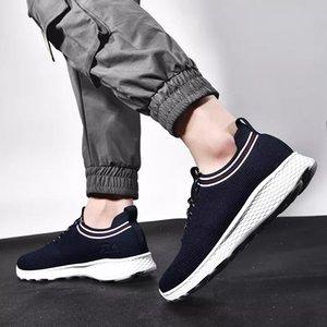 Mit Socken Mode Luxus Männer Frauen Laufschuhe schwarz weiß blau grau Breathable Sport-Turnschuh-Trainer Männer Breathable Freizeitschuhe