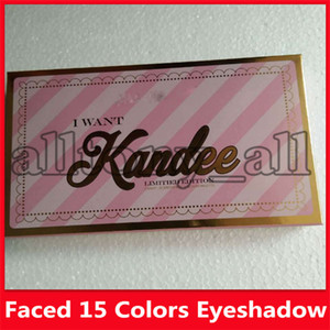 I Want Kandee Eyeshadow Palatte Limited Edition CANDY EYE EYESHADOW PALETTE 15 Colors Eyeshadow Palatte free shipping