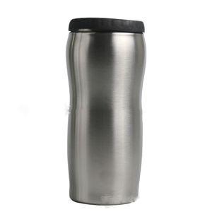 12 oz Can Cooler en acier inoxydable Gobelet en acier inoxydable Can Insulator isolation sous vide Bouteille froide calorifuge Livraison gratuite