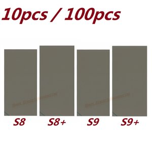 Neue OEM Polarizer Polarisierende Diffuser Film Blätter Aufkleber für Samsung Galaxy S8 G950F S8 + G955F S9 S9 +