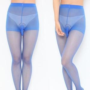 EXVOID Neue Strumpfhosen für Mann Kostüm Penis-Beutel Mantel Silk Touch Strümpfe Socken festen Strumpf für Männer Sexy Wäsche-Unterwäsche