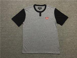 Biscoito macio California Skate Tide dos homens T-shirt Casual com gola redonda e manga curta e T BMX americano