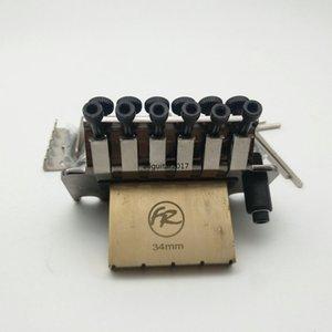 Оригинальный Никель черный FRTS5000 Система тремоло Чистая медь база Стопорная гайка 42мм / 43мм Сделано в Корее