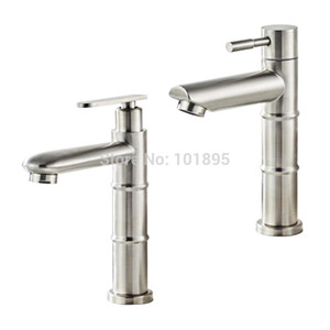 SUS304 مادة الفولاذ المقاوم للصدأ النيكل نحى صنبور المياه الباردة