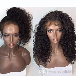 H 360 Lace Frontal Wig 150 %Density Pre -Plucked Hairline 360 Lace Front Human Hair Wig Curly Hair Wig For Black Women 12inch
