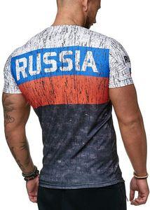 3d печатных русская футболка мужская летняя с короткими рукавами немецкая мужская рубашка патриотическая мужская хлопковая футболка мужская бутик одежды футболка J190612