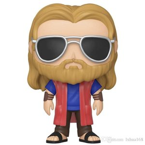 Kawaii FUNKO POP #479 Avengers 4 Thor action figures doll toy for baby gift