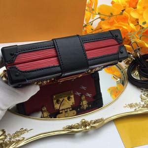 Hot Luxury Handbags Woman Evening Bag Leather Fashion Box - Designer Clutch Bag Shoulder Messenger Bag Petite Malle 94219 86286