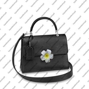 Borsa pelle bovina spalla della borsa borsa in pelle originale M53691 M53694 GRENELLE MM PM borsa delle donne della signora tote perno basso