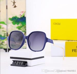 2020 Luxury Fashion Designers Large Metal Sun Glasses For Men Women Glass Lenses UV Protection Sunglasses A5