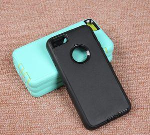 Diseñador cubierta de la caja caja de la armadura Defender iPhone Para X XR XS Max 6 7 8 6S Plus para Samsung Galaxy Lite S10 S8 Nota 9 Plus NO logo La pinza para el cinturón