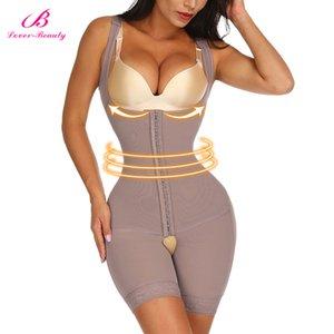 Lover Beauty Woman Slim Underwear One Piece Bodysuit Shapewear Lady Underbust Body Shapers Lingerie Plus Size Waist Trainer Y200706