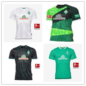 1899 Camisetas de fútbol Werder Bremen Retro # 10 KRUSE Camisetas de fútbol Werder Bremen 120 aniversario 18 19 Camiseta deportiva Werder Bremen PIZARRO 4