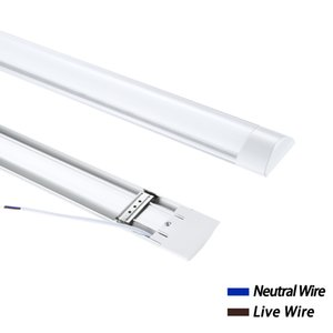 Lámpara de purificación de 120cm Neutro blanco 220V 40W LED Tubo Lámparas de techo LED LED LED de sala interior