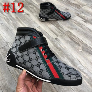 2020 derniers gucci shoes hommes Wome luxe Marque Red Bas Hommes Concepteurs Chaussures de sport G-Bas Casual Flat Outdoor Zapatillas Driving Chaussures Homme