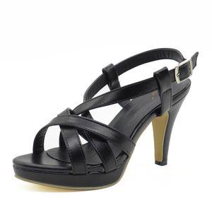 RizaBina Größe 32-43 Frauen High Heel Sandalen Gladiator Schuhe Frauen Dame Sexy Plattform Sandalen Heels Sommer Schuhe Sandalen