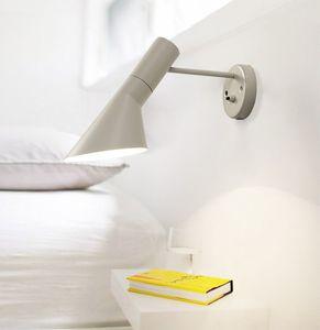 Loft AJ Wandleuchte Arne Jacobsen Lichter 120 ° Rotation Wandaufbauleuchten Moderne Wandleuchte Weiß / Schwarz Farbe