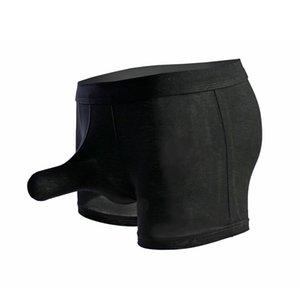Atractivo para hombre de la ropa interior modal del pene masculino fresco atractivo del elefante nariz grande bolsa boxer bragas de la ropa interior Hombres Gay