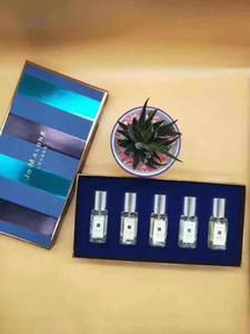 Yeni Kadın parfümü 5pcs Parfüm Seti Marka Jo Malone 5in1 Parfüm Parfüm Her 9ml * 5 Sıcak Satılık Sprey