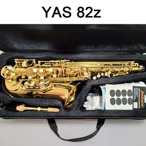 La migliore qualità sax alto oro Alto sax YAS-82Z Giappone Marca Alto sassofono E-Flat strumento musicale di livello professionale di trasporto