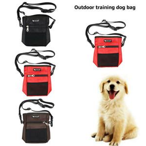 2019 Dog Obedience Training Whistle Clicker Caminhada Bolsa Pet Puppy Treat ombro Snack Bag Food Belt Bolsas Dispenser