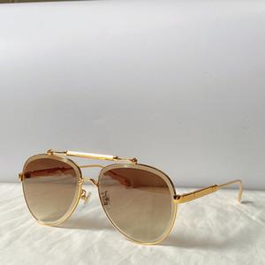 0973 Nouvelle mode lunettes de soleil femmes lunettes de soleil ovale métal cadre lunettes de soleil de charme élégant élégant anti-UV400 lentille loisirs lunettes de soleil classiques