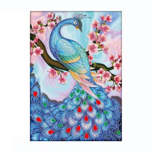New Diy diamond painting peacock cross stitch crystal diamond gift embroidery rhinestones with craft tools high quality