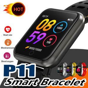 P11 Smart Watch Мужчины Женщины Для Apple Watch Android Телефон Водонепроницаемый Монитор Сердечного ритма Артериального Давления Спорт Smartwatch