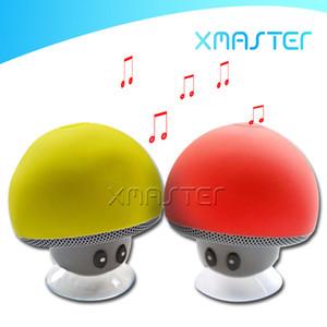 Bluetooth 무선 버섯 스피커 음악 플레이어 홈 시어터 서라운드 방수 스피커 야외 휴대용 어리버리 브라켓 스피커 xmaster