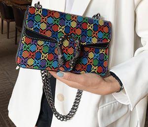 2019 Women Marmont bag Luxury Handbags Designer Handbags Soft Genuine Leather Shoulder Bags Ladies Heart V Wave Pattern Crossbody Bags