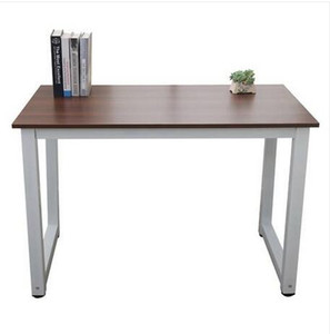 Free shipping Wholesales Hot sales US STOCK 110cm Decent High Strength Wooden Computer Desk Brown