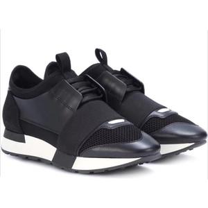 2019 luxus Designer Sneaker Mann Frau Freizeitschuhe Aus Echtem Leder Mesh Spitz Rennläufer Schuhe Im Freien Trainer Mit Box US5-12