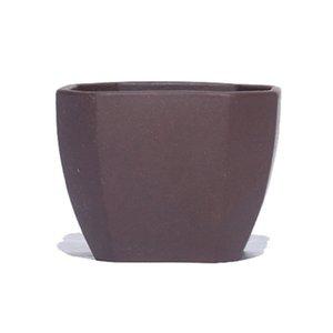 Mor Kil Kare Çay Kupası Çevre Çay Bowl Servisi Pu'er Çay Master Cup