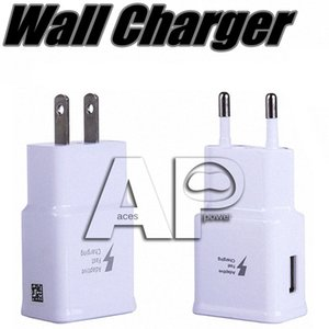 5V 2A Wall USB Chargeur rapide Turbo Adaptateur Turbo Charge 2A UE Fiche américaine pour Samsung Galaxy S9 S8 Plus Note8 Note 10 Plus