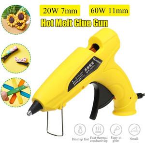 Doersupp 20W / 60W DIY Портативный Hot Melt Glue Gun Art Craft Repair Tool 11мм Клей Стик Ремонт тепла Инструменты