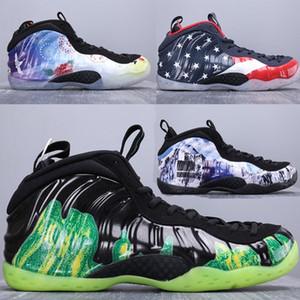 2019New Yüksek kalite Varış Sprey Köpük Serisi Penny Hardaway XX Klasik Atletik Erkek Spor Sneakers için 20th Basketbol Ayakkabı Boyutu 40-46