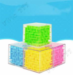 Cube New 5.5CM 3D Puzzle Maze Toy jogo da mão Caso Box Diversão cérebro jogo desafio Fidget Brinquedos Saldo brinquedos educativos para crianças