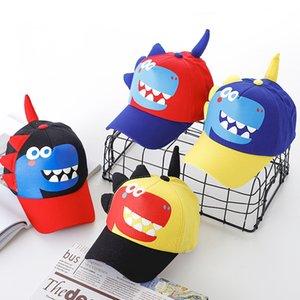 Children Baseball Cap Spring Summer Boys Girls Cartoon Dinosaur Cap Casual Adjustable Kids Snapback Sun Hat