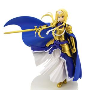 Tronzo Orijinal Furyu Eylem Şekil Sword Art Online Alicization Asuna Alice Bütünlüğü Şövalye PVC Şekil Model Oyuncaklar SAO heykelcik T200106