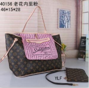 omuz çantası kadın çantası + Küçük torba N40156 konşimento 3A 2020 TT yeni bayan deri çanta kadın anne paket çantası el anne faturası
