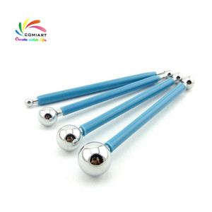 4PCS Set Ball Sphere Stylus Polymer Clay Tools Pottery Ceramics Doll Sculpting Modeling Tools Fondant Cake Kit Other Hand Tools