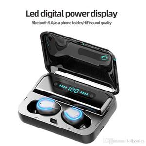 العرض بلوتوث جديد سماعات TWS سماعات لاسلكية LED الرقمية مع بنك الطاقة ستيريو الألعاب سماعة أذن الرياضة لXIAOMI
