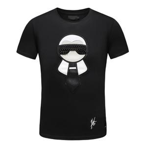 Moda Uomo Luxury Designer T-shirt da uomo Maglietta con lettere Estate manica corta da uomo Tee Shirts Medusa T Shirt Abbigliamento