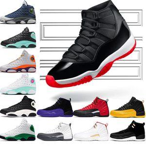 Nike Air Jordan 11 Retro 11 11 s Basketbol Ayakkabı Concord 45 Platin Ton Kap ve Kıyafeti Erkek Kadın UNC Spor Kırmızı Gama Mavi Zeytin Lux Trainer Spor Sneaker
