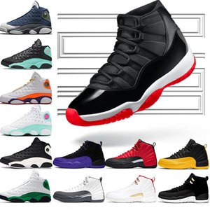 Nike Air Jordan 11 Retro 11 11s Chaussure de basketball Concord 45 Cap Platine et robe pour hommes UNC Gym Red Gamma Bleu Olive Lux Trainer Sport Sneaker