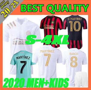 erkekler + çocuklar 2020 2021 MLS Mükamele Atlanta United FC futbol forması 19 20 BARCO GARZA JONES VILLALBA MCCANN MARTINEZ Almirón formalarını